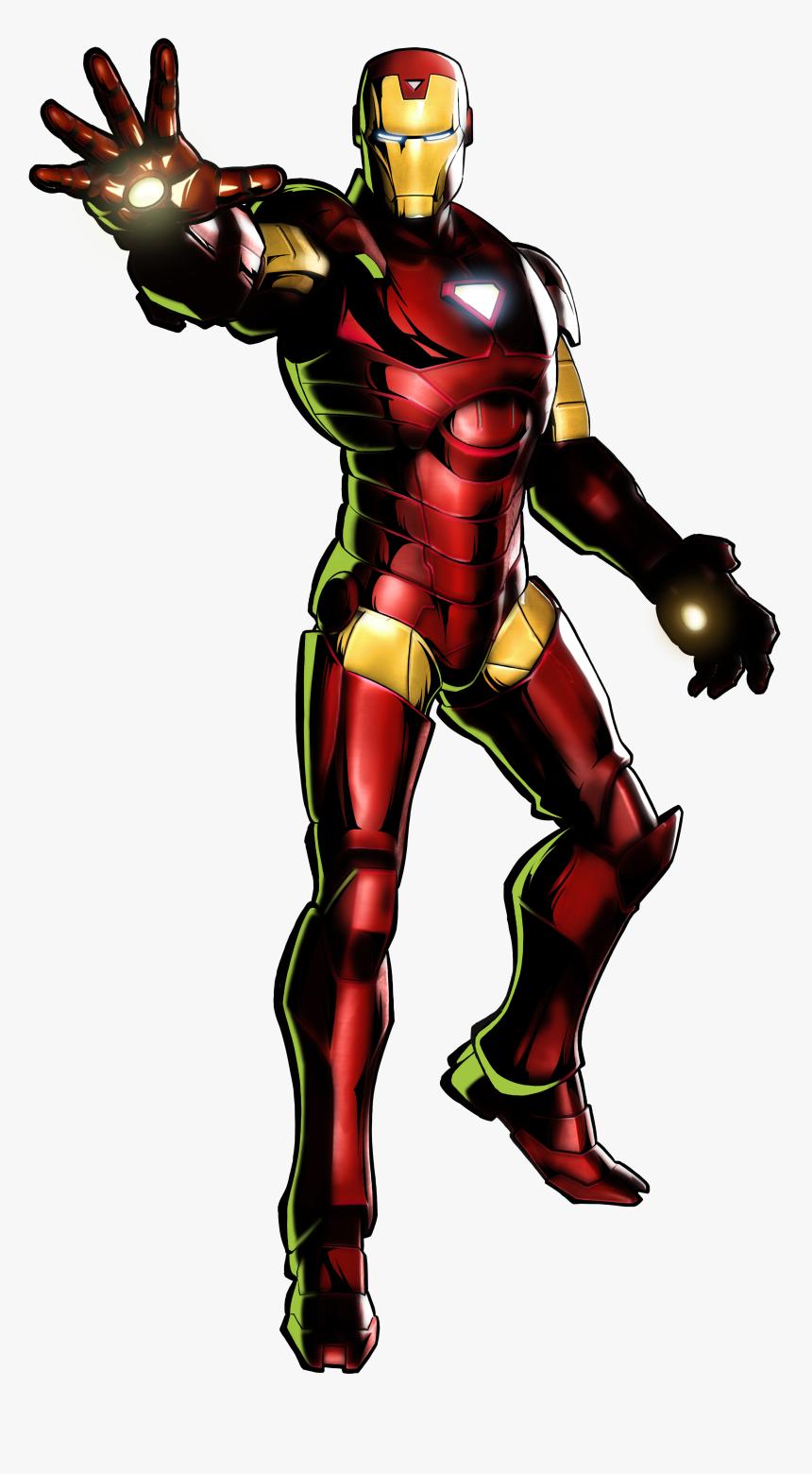 Marvel Vs Capcom 3 Iron Man, HD Png Download, Free Download