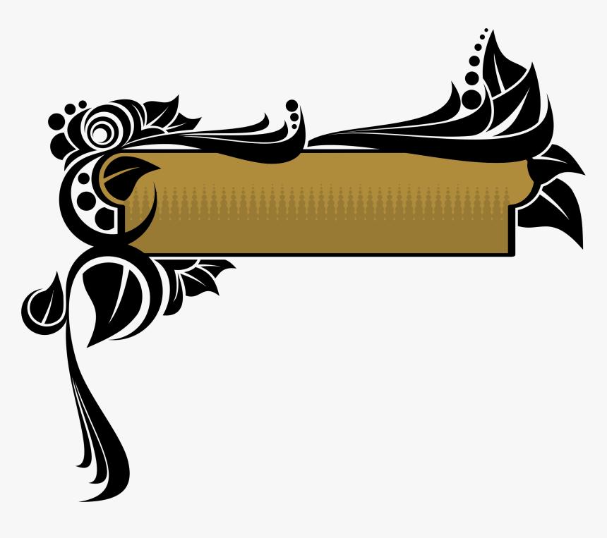 Free Download Decorative Banner Transparent Png Clipart - Decorative Banner Transparent Png, Png Download, Free Download