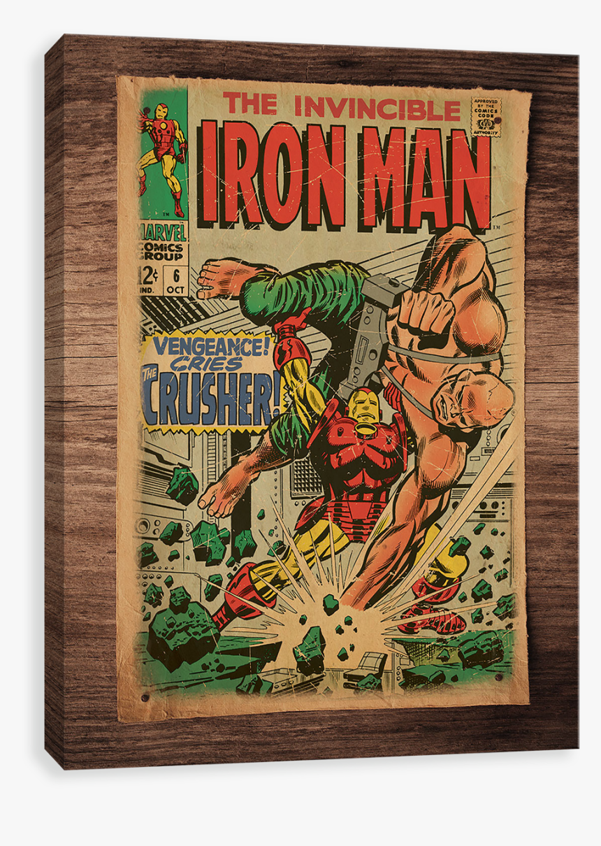 Iron Man On Parchment - Iron Man, HD Png Download, Free Download