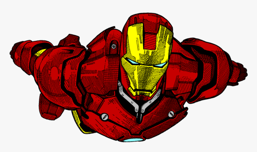 Iron Man Sketch By - Iron Man Drawing Colour, HD Png Download, Free Download