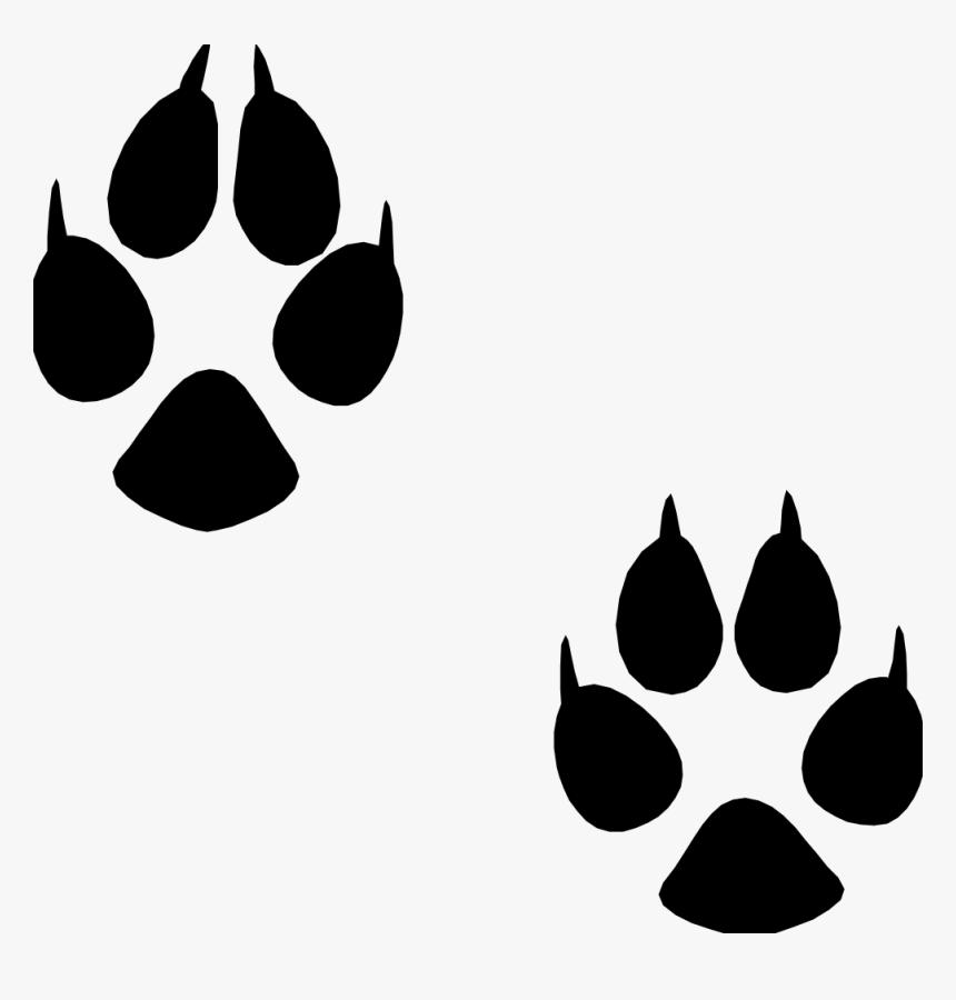 Transparent Footprints Animal - Animal Footprint Png, Png Download, Free Download