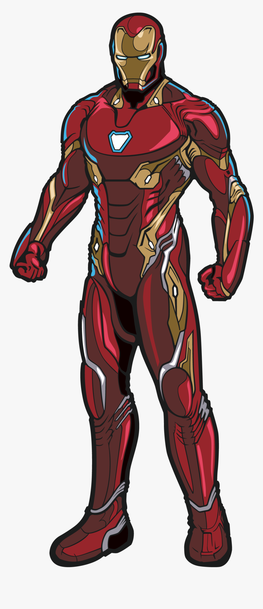 Infinity War Iron Man Drawing, HD Png Download, Free Download