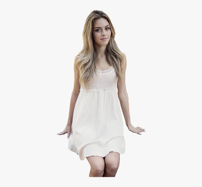 Girl, Sitting, Blonde, Young, People, Woman, Female - Young Woman Sitting Png, Transparent Png, Free Download