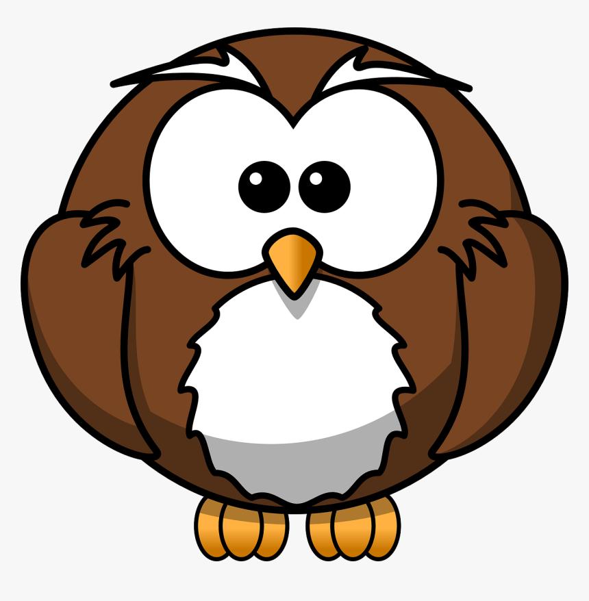 Cartoon Owl Clip Art - Cartoon Owl Clipart, HD Png Download, Free Download