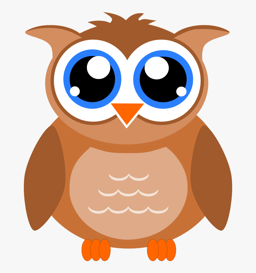 Clip Art Face Png Transparent - Owl Clipart No Background, Png Download, Free Download
