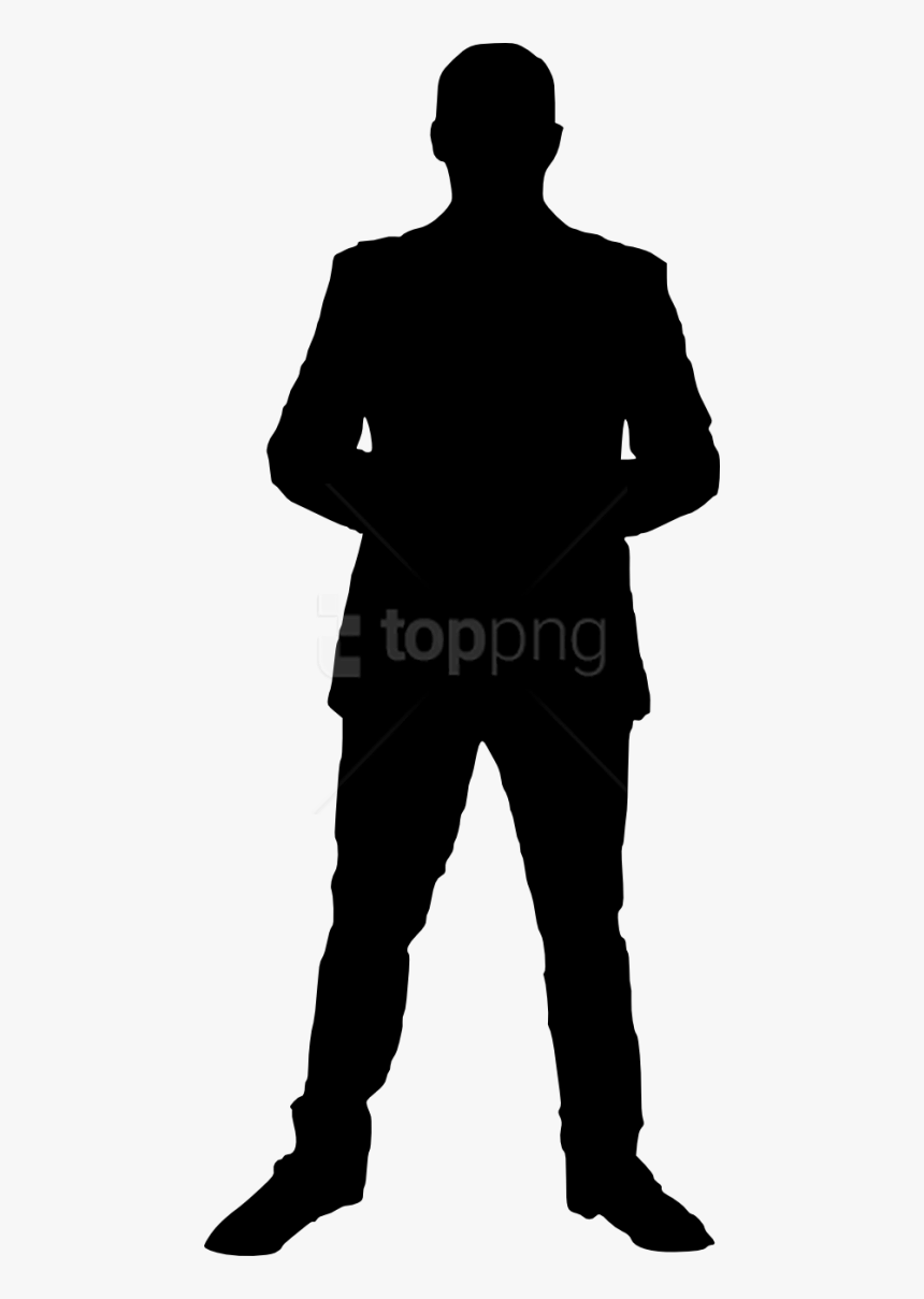 Man Silhouette No Background, HD Png Download, Free Download