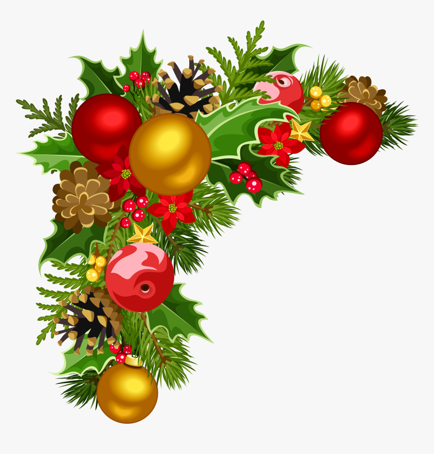 Decoration Png - Christmas Decorations Transparent Background, Png Download, Free Download