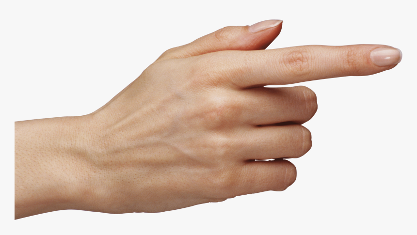Woman Pointing Finger Transparent Png - Pointing Finger Png, Png Download, Free Download