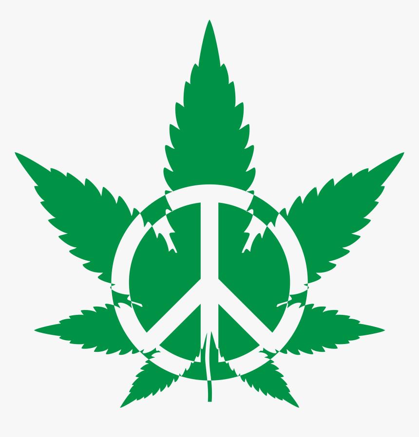 Peace Marijuana, HD Png Download, Free Download