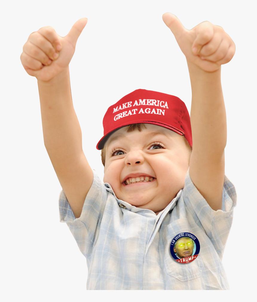 America Greatag Trump Donald Trump Cocktail I-kids - Make America Great Again Kids, HD Png Download, Free Download