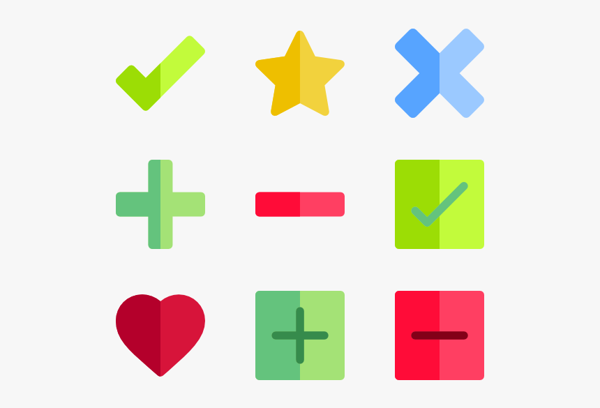 Rating And Validations - Tick And Cross Png, Transparent Png, Free Download