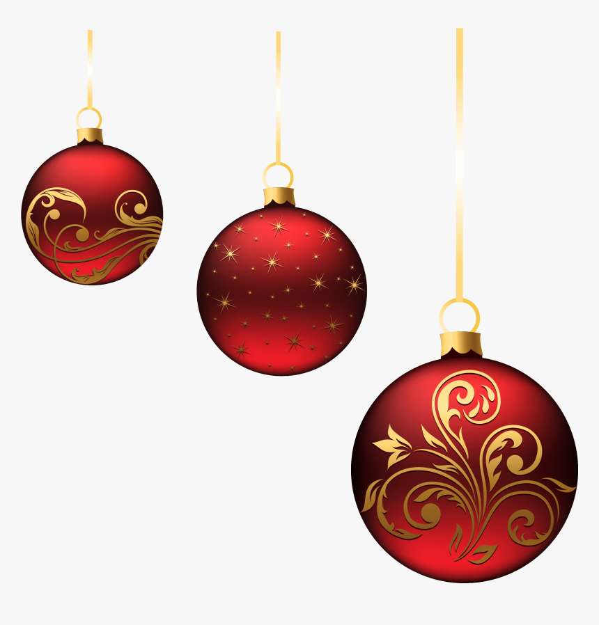 Christmas Decoration Png - Christmas Tree Balls Png, Transparent Png, Free Download