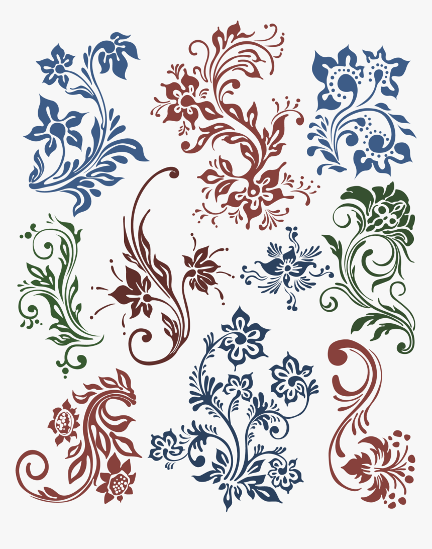 Vector,vector Damask Design,vector Design,vector File,vector - Ornament Vector, HD Png Download, Free Download