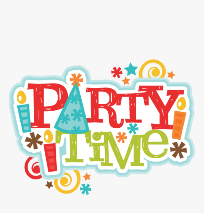 Clipart Party Time Free Clipart Download Rh Thelockinmovie - Party Time Clipart, HD Png Download, Free Download