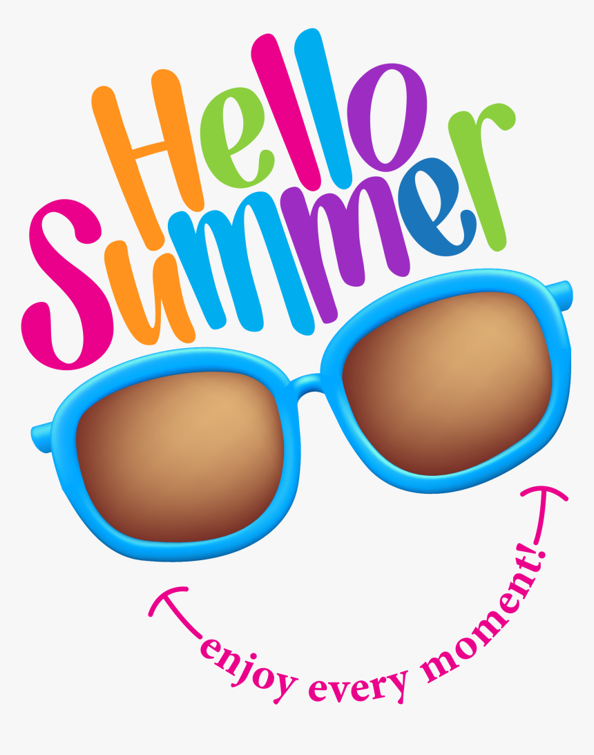 Summer Color Illustration Royalty-free Vector Time - Free Illustration Summer Time, HD Png Download, Free Download