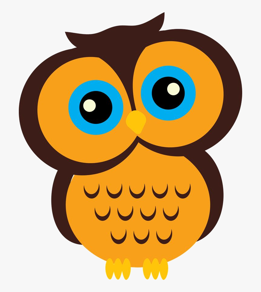 Yellow Owl Clipart At Free For Personal Use Transparent Free Printable Cartoon Owls Hd Png Download Kindpng