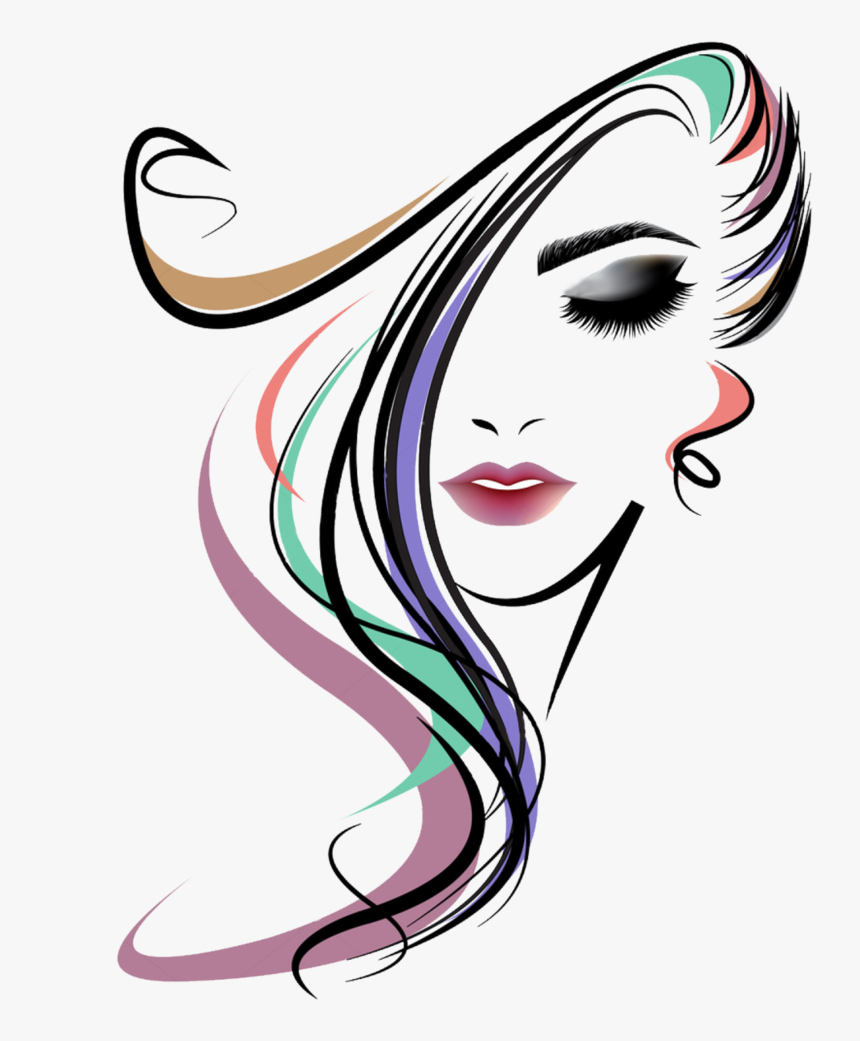 Clipart Beauty Parlour Logo Hd Png Download Kindpng