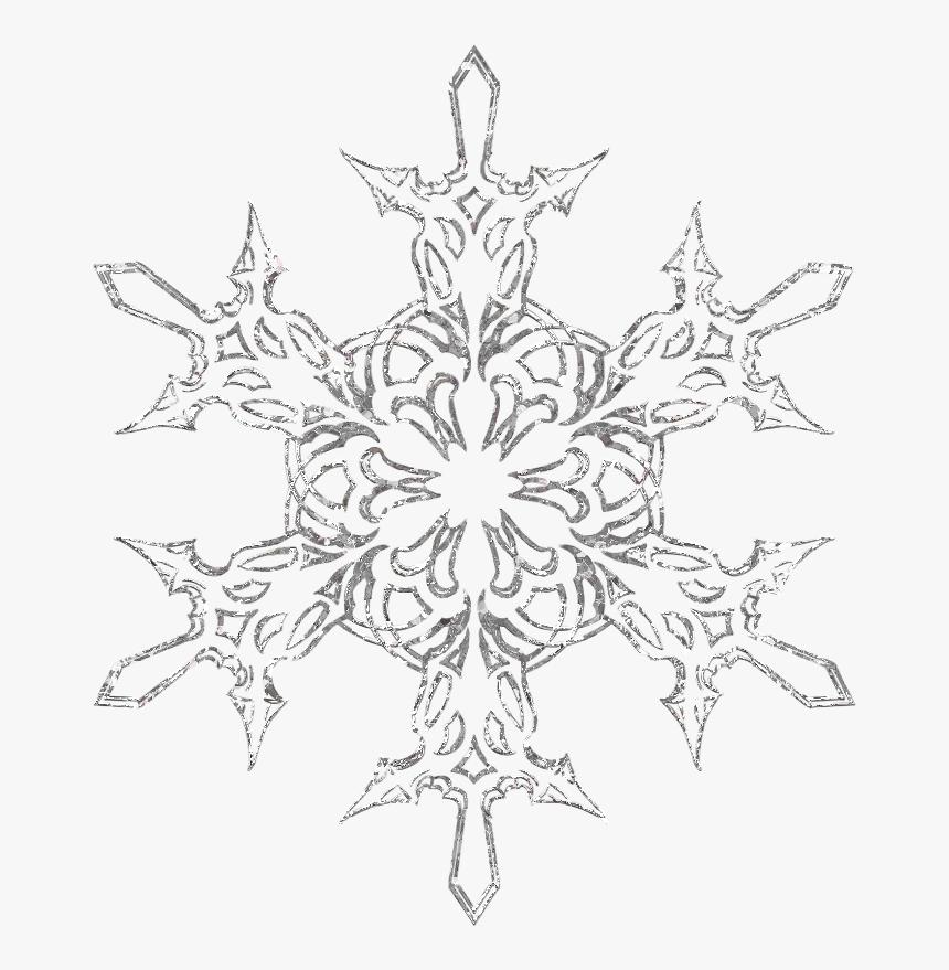 Silver Snowflake Png Download - Transparent Background Cow Png, Png Download, Free Download