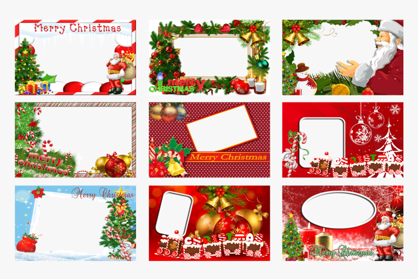 Transparent Christmas Card Frame Png - Christmas Tree, Png Download, Free Download