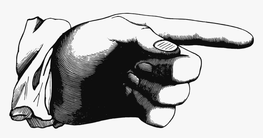 You Finger Pointing Free Picture - Old Pointing Finger Png, Transparent Png, Free Download