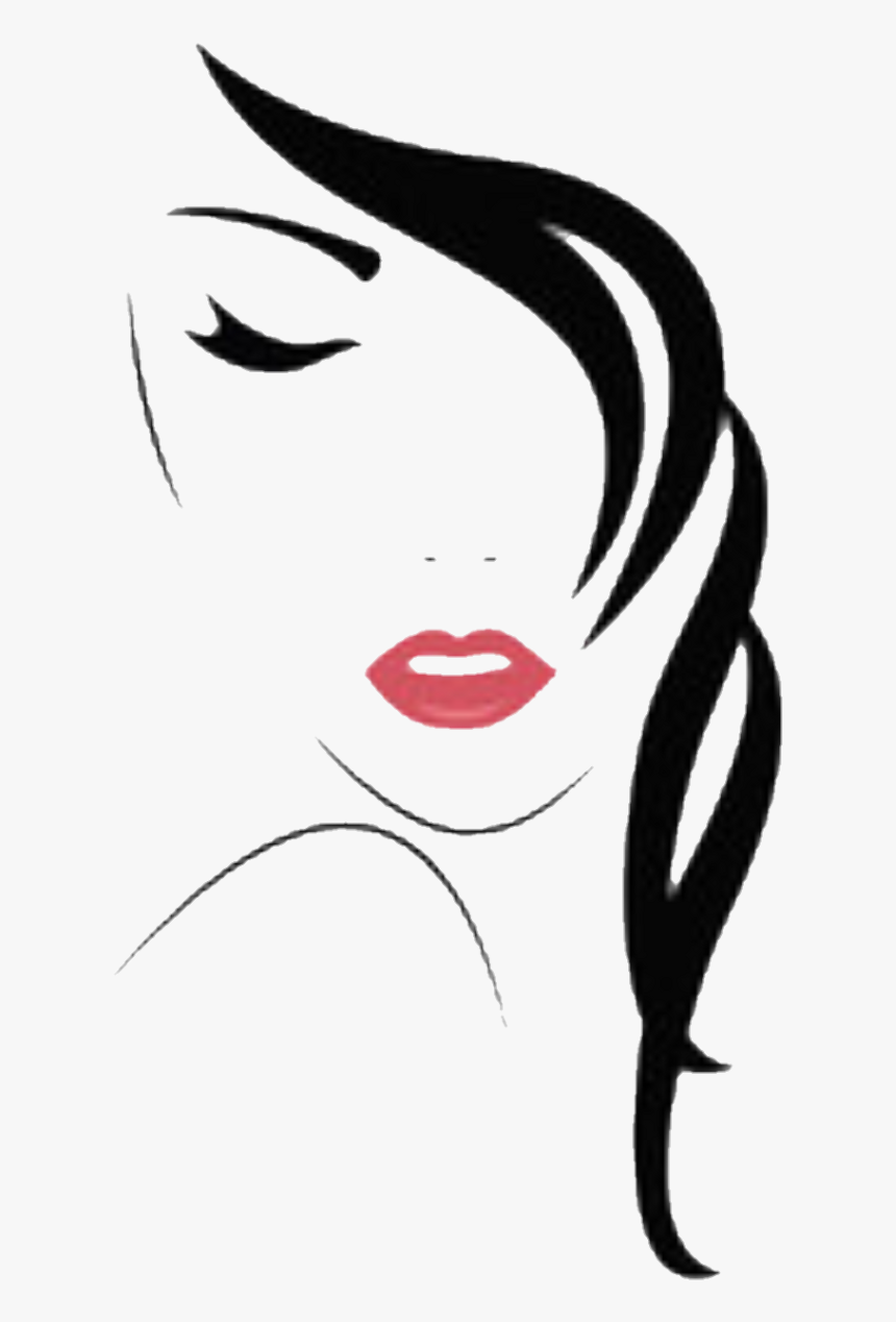 Woman Face Vector Clipart Png Download Woman Face Vector Png Transparent Png Kindpng