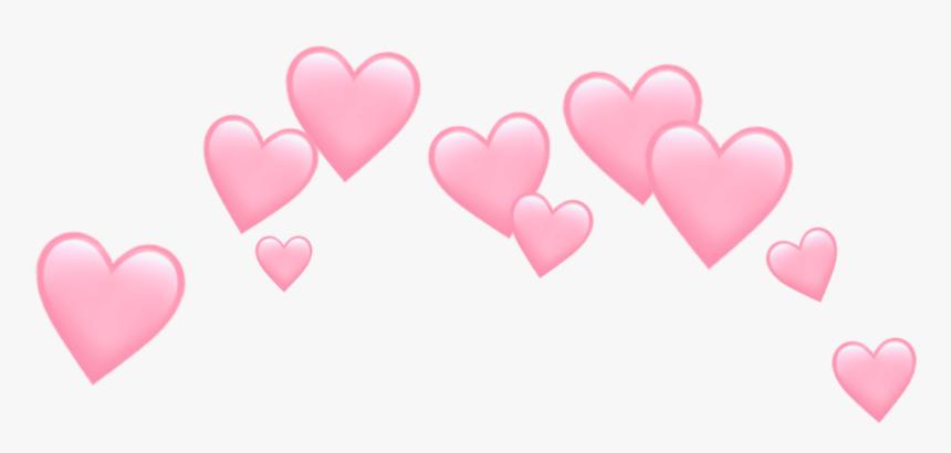 Hearts Crown Emoji Emojis Tumblr Aeshtetic Sad Png - Transparent Heart Crown Png, Png Download, Free Download