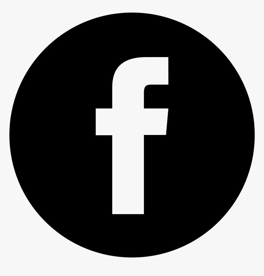 Transparent Facebook Logo Black, HD Png Download - kindpng