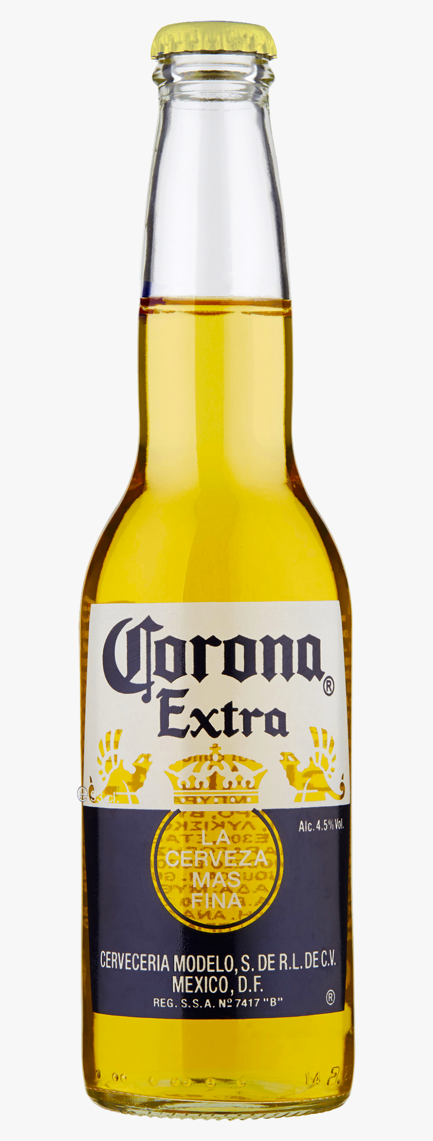 Corona Extra Beer Bottle - Corona Extra 35.5 Cl, HD Png Download, Free Download