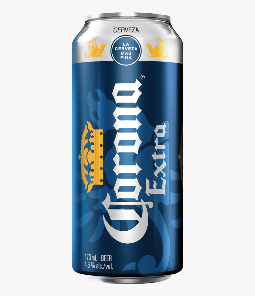 Corona Beer Png - Corona Extra Tall Can, Transparent Png, Free Download