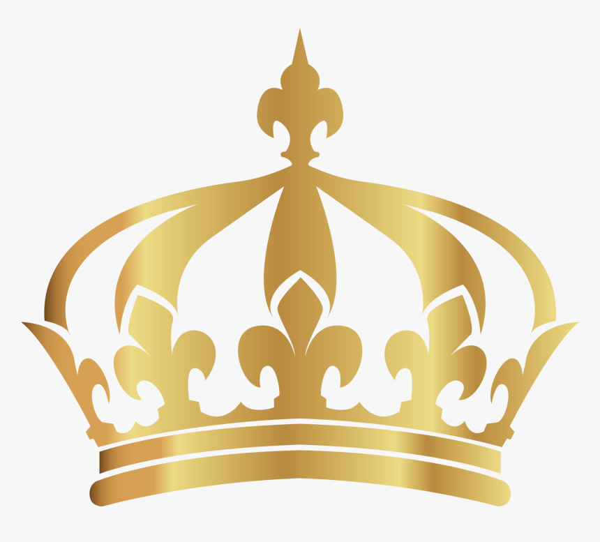 Vector Hand-painted Gold Crown Png Download - Transparent Background Queen Gold Crown Png, Png Download, Free Download