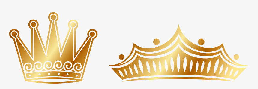 Euclidean Vector Crown - Gold Crown Vector Png, Transparent Png, Free Download