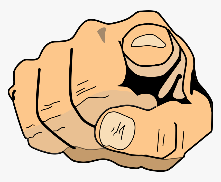 Finger Pointing At You Png, Transparent Png, Free Download