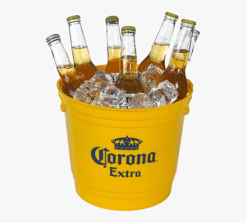 Corona Bucket Png - Bucket Of Beer Png, Transparent Png, Free Download