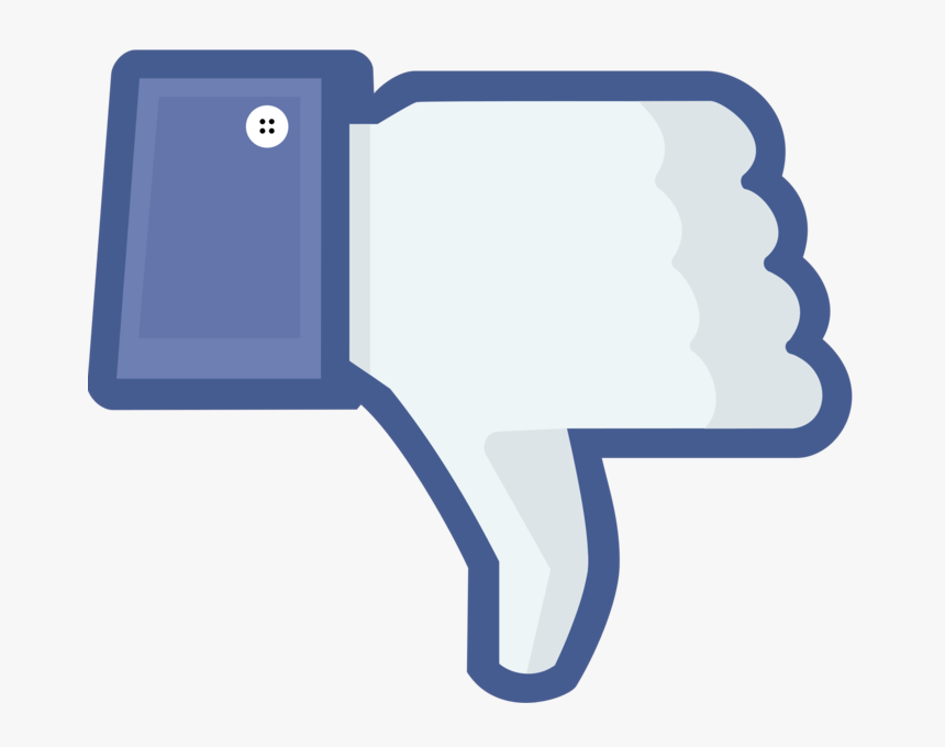 Facebook Ad Fail - Facebook Thumbs Down, HD Png Download, Free Download