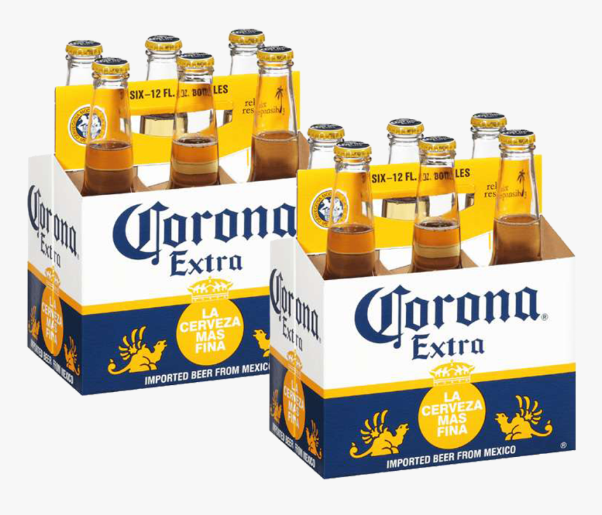 Corona Extra Lager Beer Case Of - Corona Extra, HD Png Download, Free Download