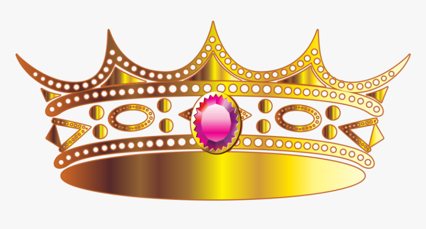 Gold Crown Png - Gold Transparent Background Crown Png, Png Download, Free Download