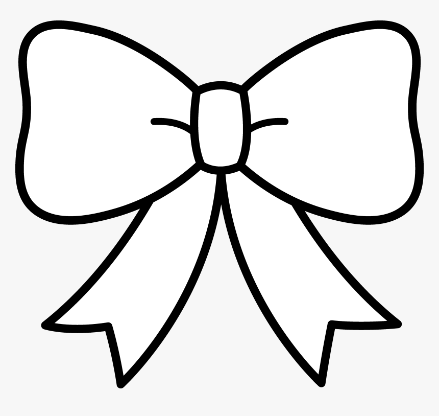 Bow Clipart Black And White Clipart Panda - Clipart Black And White Ribbon, HD Png Download, Free Download