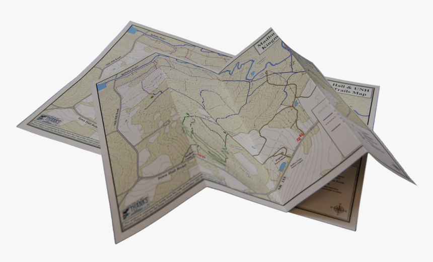 Folded Map Png - Paper Map Transparent Background, Png Download, Free Download
