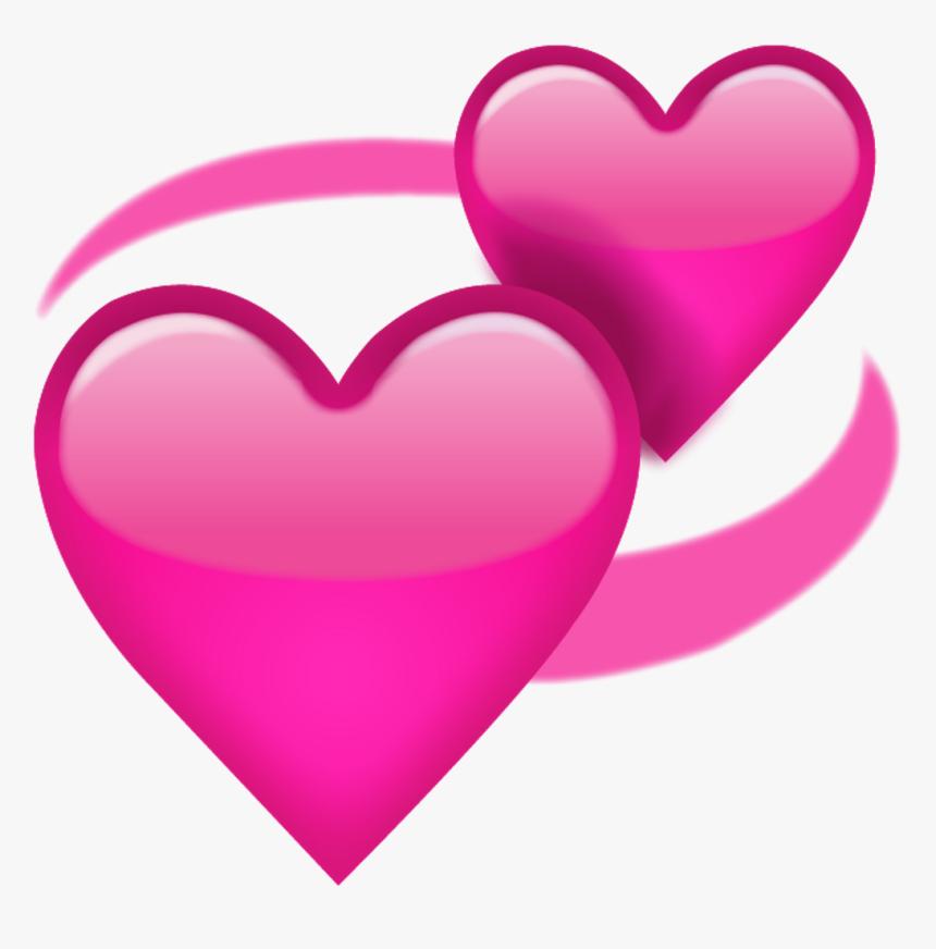 Tumblr Heart Corazon Pink Rosas Emoji Whatsapp Love - Love Heart Emoji Transparent, HD Png Download, Free Download