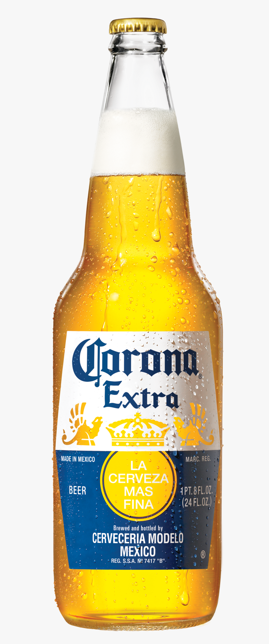 Corona Extra 24oz Bottle, HD Png Download, Free Download