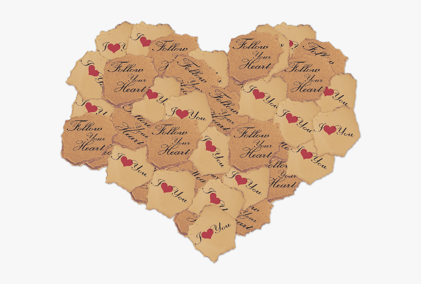 Torn Paper Heart Png Stock Photo - Paper Heart Png Transparent, Png Download, Free Download