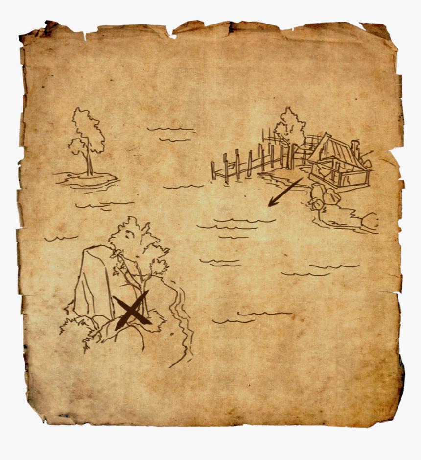 Glenumbra Treasure Map I - Eso Clockwork City Treasure Map 2, HD Png Download, Free Download