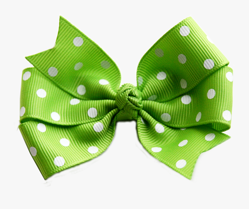 Green Christmas Bow Png - Bow Transparent Background Green, Png Download, Free Download