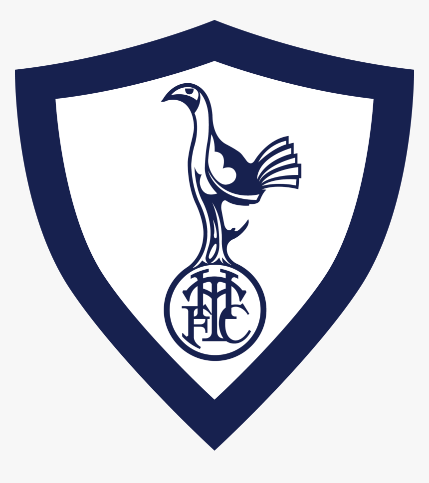 Spurs Drawing Player Real Madrid Tottenham Hotspur Old Logo Hd Png Download Kindpng