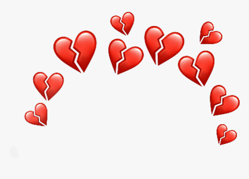 Broken Hearts Crown Png, Transparent Png, Free Download