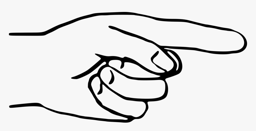 Pointing Clipart Middle Finger Hand Pointing Finger Line Drawing Hd Png Download Kindpng Search more high quality free transparent png images on pngkey.com and share it with your friends. pointing clipart middle finger hand