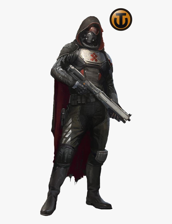 Destiny Hunter Armor Black, HD Png Download, Free Download
