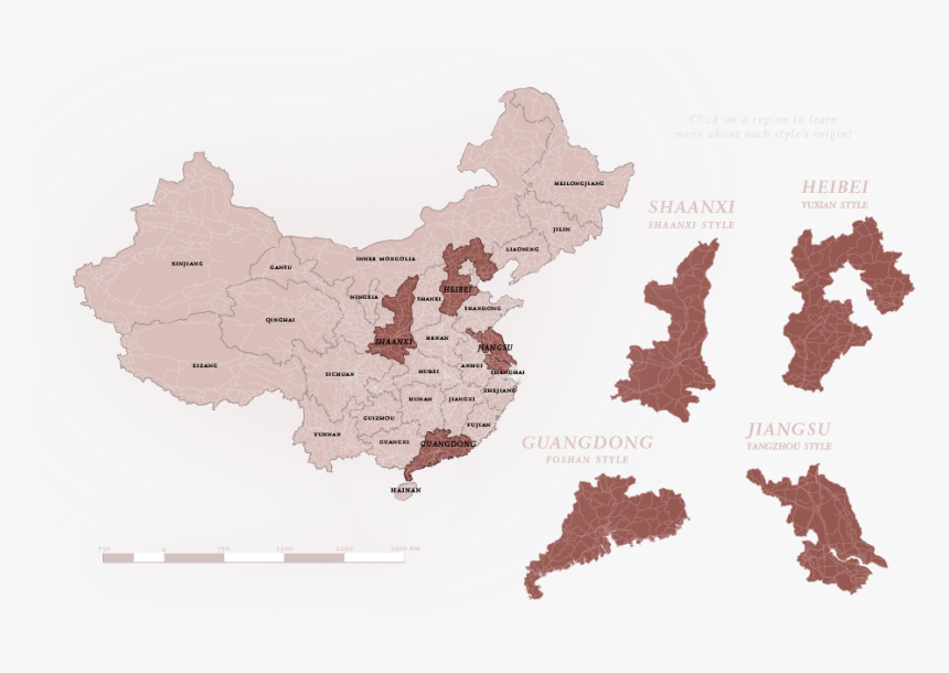 Transparent Paper Map Png - Map Of China No Background, Png Download, Free Download