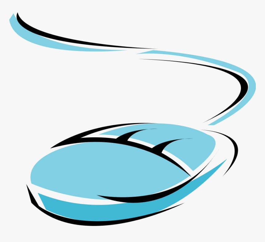 Blue Computer Mouse Svg Clip Arts Vector Computer Mouse Clipart Hd Png Download Kindpng
