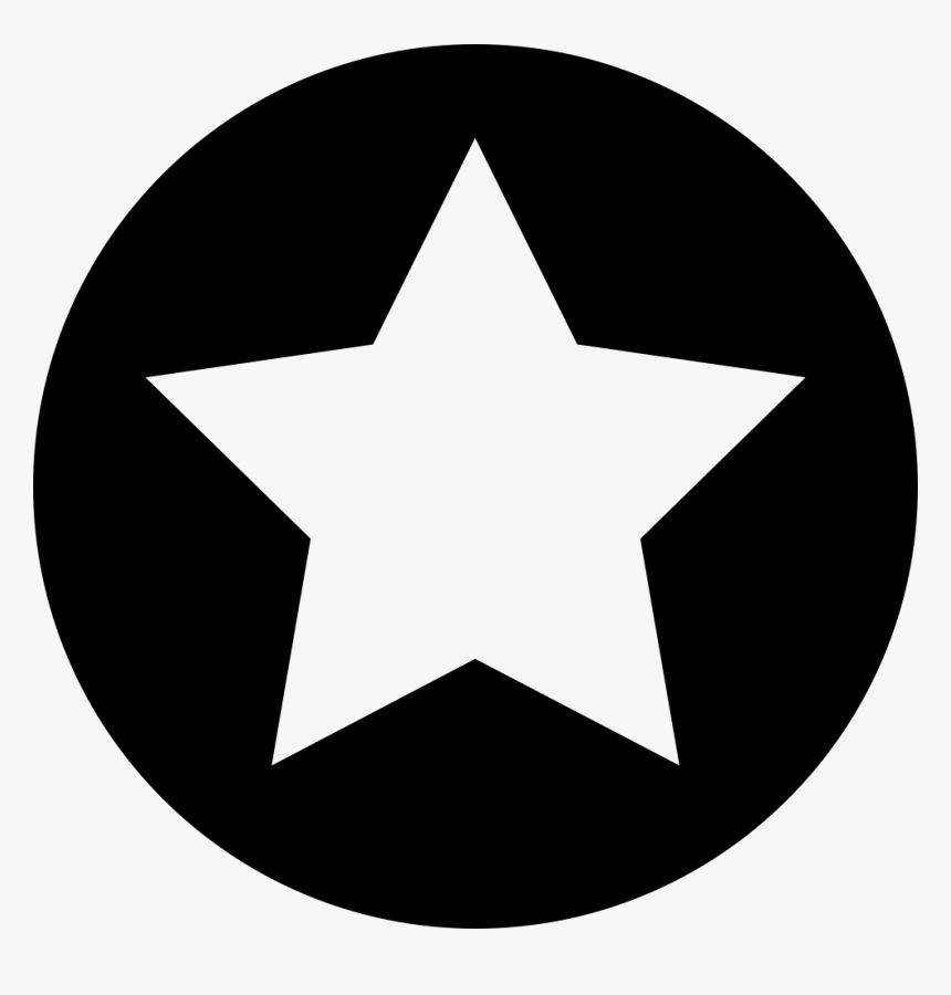 Circle Star - Star In Circle Icon Png, Transparent Png, Free Download